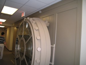 bank vault right side