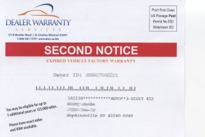 Front side of the post card
