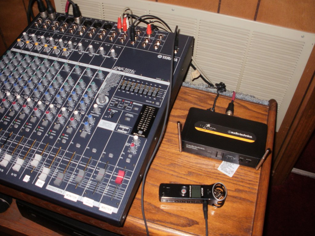 zoom h1 and mixer