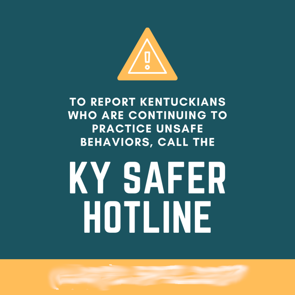 KY safer hotline
